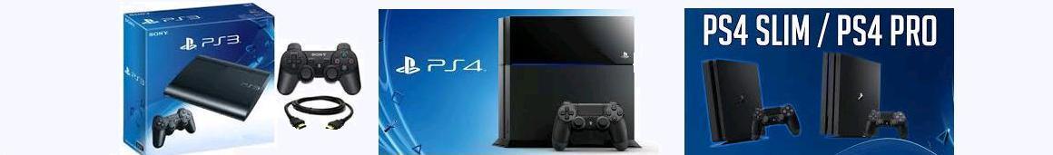 Skup konsol PS3 Super Slim / PS4 Slim, Pro