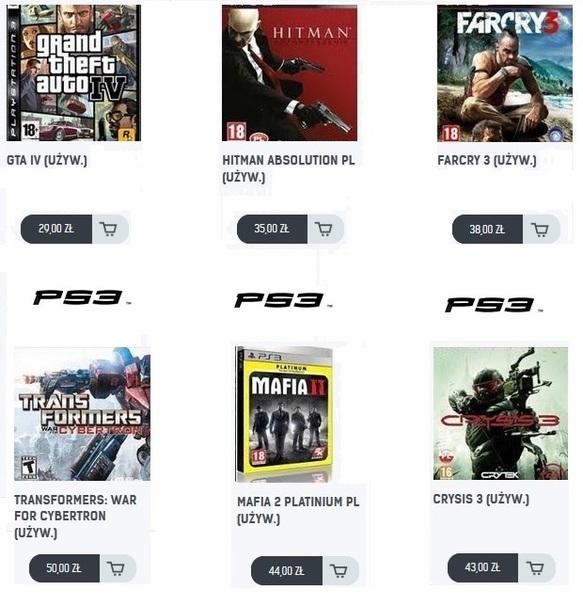 AKCJA PS3
